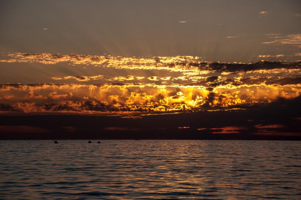 Warm - Sonnenuntergang in Kroatien