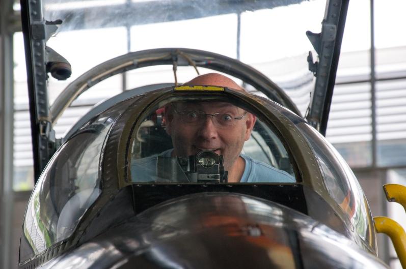 Lichtgewimmel im Cockpit