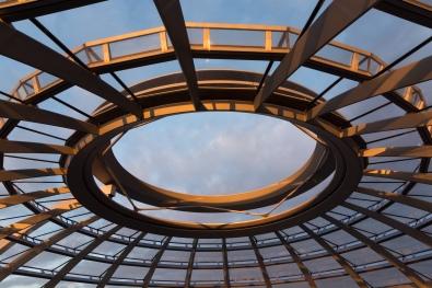 Kuppel des Reichstags, innen