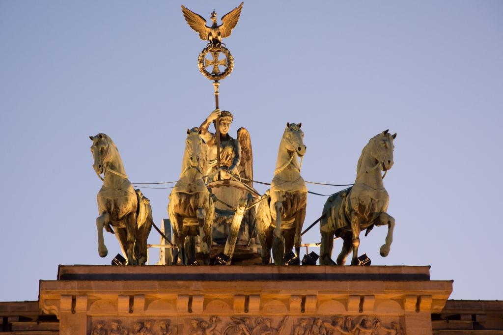 Quadriga auf dem Brandenburger Tor, Berlin