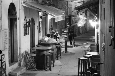 Bonifacio bei Nacht